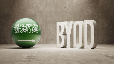 Saudi Arabia High Resolution Byod  Concept photo