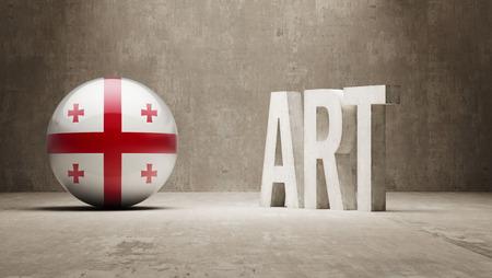 artistry: Georgia High Resolution Art  Concept