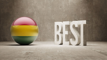 superlative: Bolivia High Resolution Banks  Concept Stock Photo