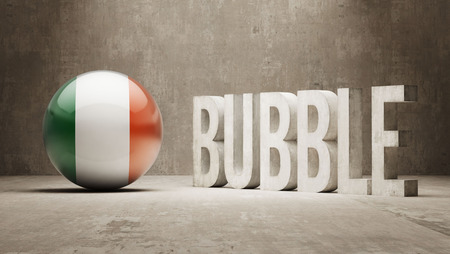 poke': Ireland High Resolution Bubble  Concept Stock Photo