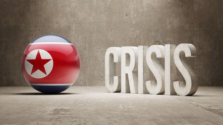 subprime: North Korea High Resolution Crisis Concept