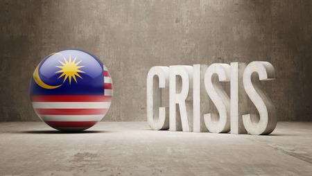 subprime: Malaysia High Resolution Crisis Concept Stock Photo