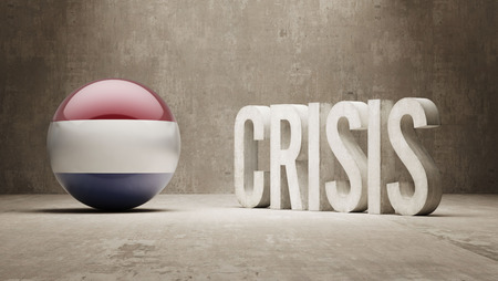 subprime mortgage crisis: Netherlands High Resolution Crisis Concept
