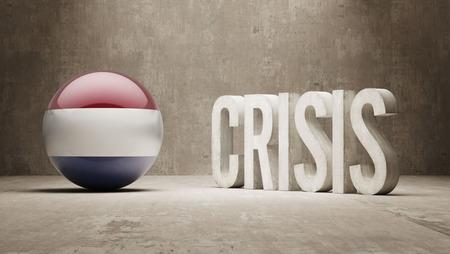 subprime: Netherlands High Resolution Crisis Concept