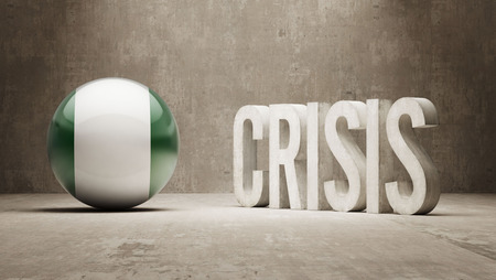 subprime: Nigeria High Resolution Crisis Concept