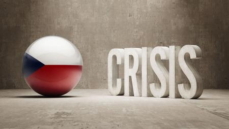 subprime mortgage crisis: Czech Republic High Resolution Crisis Concept
