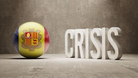 subprime mortgage crisis: Andorra High Resolution Crisis Concept