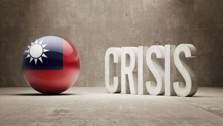 subprime: Taiwan High Resolution Crisis Concept Stock Photo
