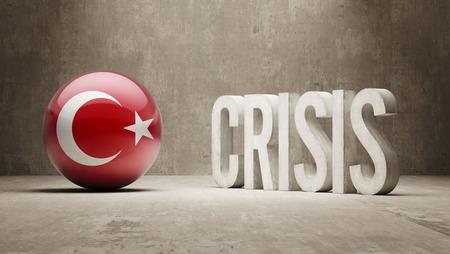 Turkey High Resolution Crisis Concept