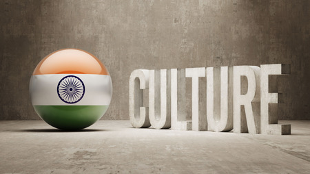 India High Resolution Culture Concept