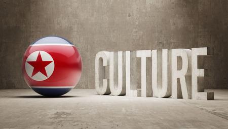 North Korea High Resolution Culture Concept