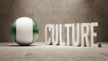 Nigeria High Resolution Culture Concept