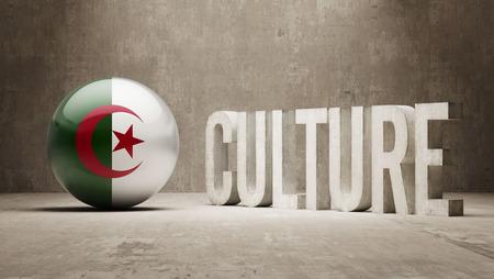 Algeria High Resolution Culture Concept