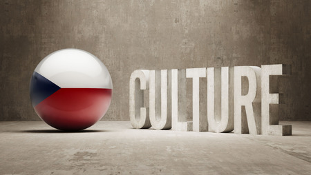 Czech Republic High Resolution Culture Concept Stock Photo