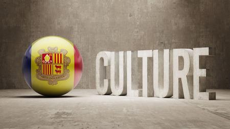 Andorra High Resolution Culture Concept