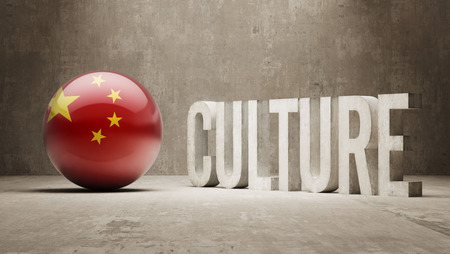 China High Resolution Culture Concept