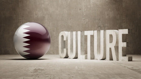 racial diversity: Qatar High Resolution Culture Concept