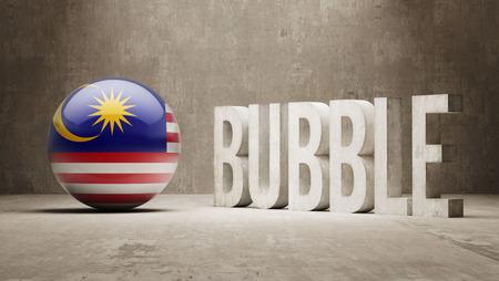 Malaysia High Resolution Bubble  Concept