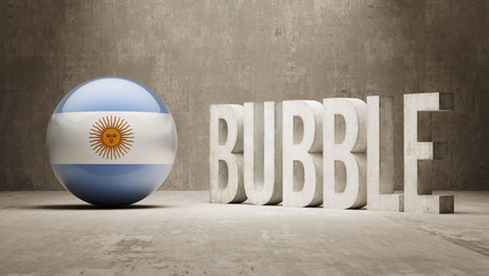overvalued: Argentina High Resolution Bubble  Concept
