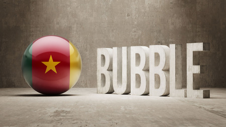 overvalued: Cameroon High Resolution Bubble  Concept