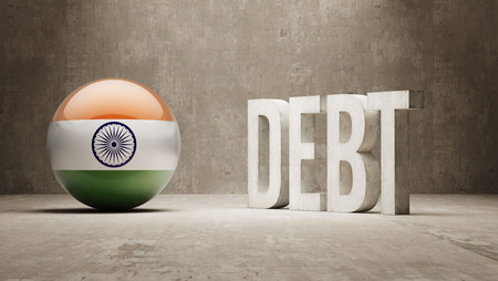 subprime: India High Resolution Debt  Concept