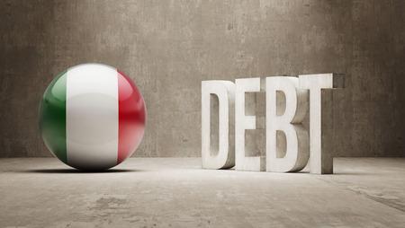 subprime: High Resolution Debt  Concept Stock Photo