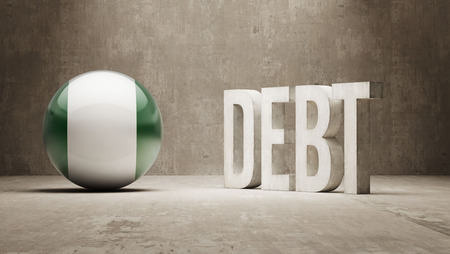 subprime: Nigeria High Resolution Debt  Concept