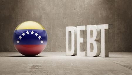 Venezuela High Resolution Debt  Concept