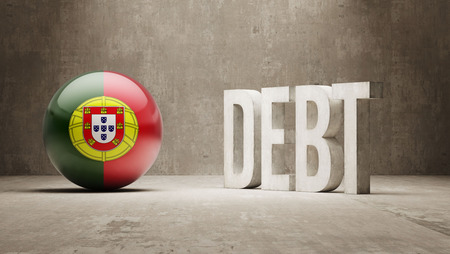 subprime: Portugal High Resolution Debt  Concept