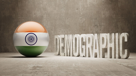 demographic: India High Resolution Demographic  Concept