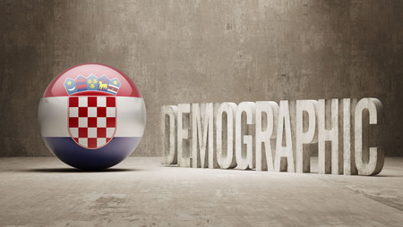 demographic: Croatia High Resolution Demographic  Concept