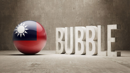 overvalued: Taiwan High Resolution Bubble  Concept
