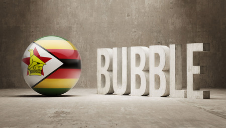 Zimbabwe High Resolution Bubble  Concept photo