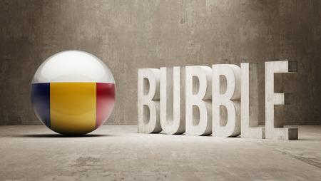 Romania High Resolution Bubble  Concept