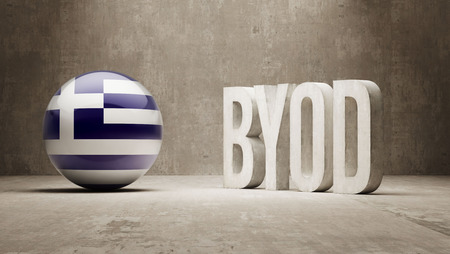 Greece High Resolution Byod  Concept photo