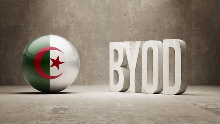 Algeria High Resolution Byod  Concept photo