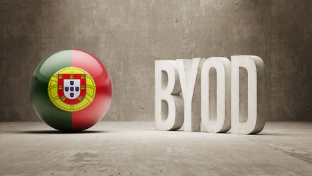 Portugal High Resolution Byod  Concept photo