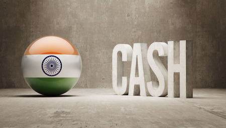 India High Resolution Cash  Concept photo