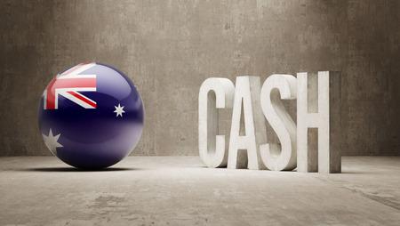 australian money: Australia High Resolution Cash  Concept