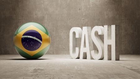 brasilia: Brazil High Resolution Cash  Concept Stock Photo