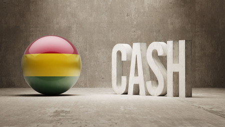Bolivia alta resoluci�n Cash Concept photo