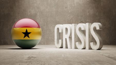 subprime: Ghana High Resolution Crisis Concept