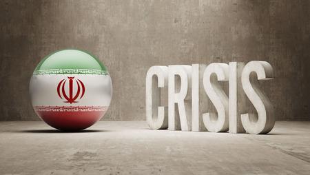 subprime: Iran High Resolution Crisis Concept