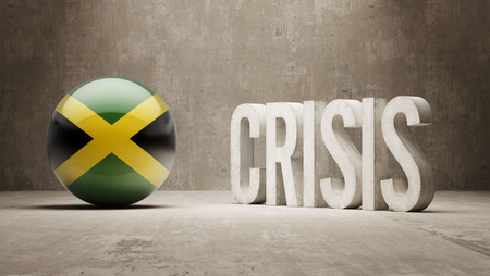 subprime: Jamaica High Resolution Crisis Concept Stock Photo