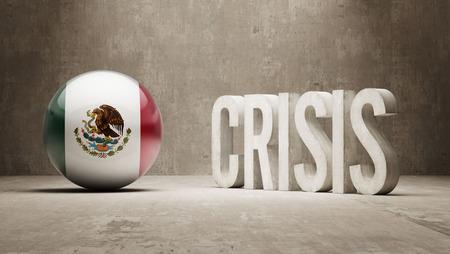 subprime: Mexico High Resolution Crisis Concept Stock Photo