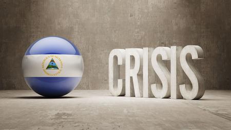 subprime: Nicaragua High Resolution Crisis Concept