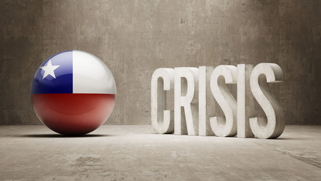 Chile High Resolution Crisis Concept