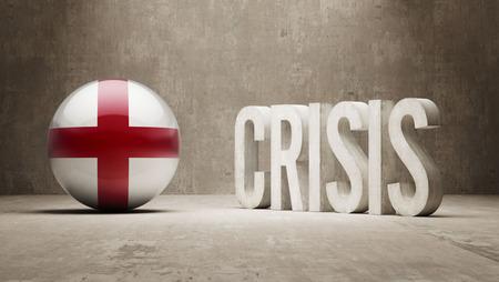 subprime: England High Resolution Crisis Concept