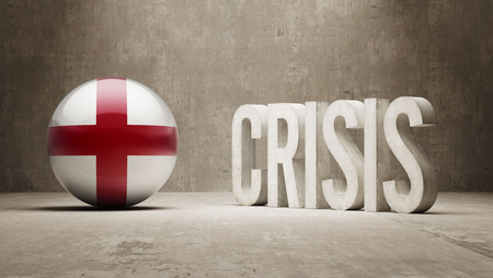 England High Resolution Crisis Concept