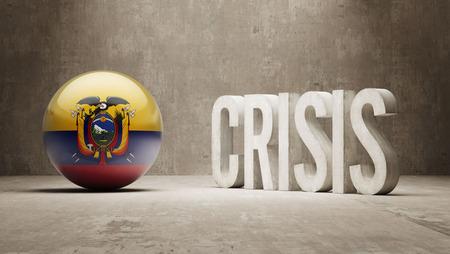 Ecuador High Resolution Crisis Concept